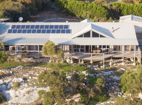The Lodge accommodation on Kangaroo Island, South Australia