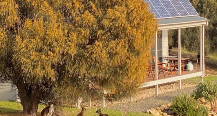KI luxury accommodation;KI accommodation; Sea Dragon Lodge; Luxury Eco Villa; Eco friendly accommodation on Kangaroo Island