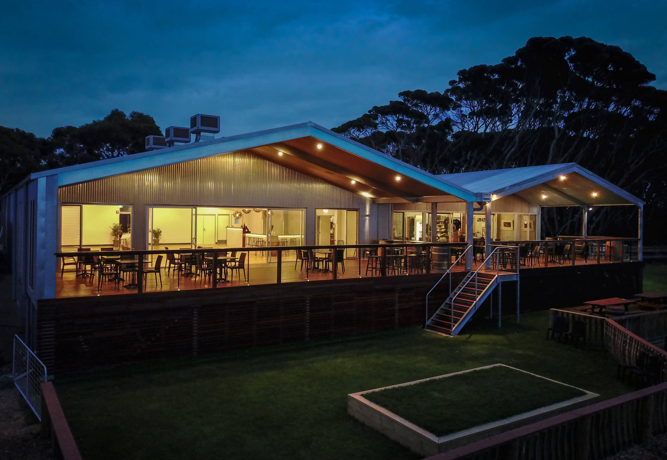 Dudley Wines Conference centre is used for our Kangaroo Island executive retreats