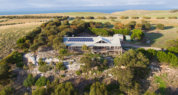 Kangaroo Island luxury lodge;luxury kangaroo island lodge; Sea Dragon Lodge; Lodge Exterior; Cape Willoughby;luxury lodges of Australia