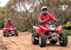 KI Outdoor Action provide an eco friendly quad bike tour on Kangaroo Island near Vivonne Bay